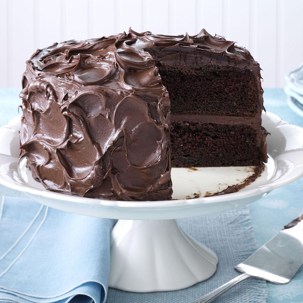 Decadent Chocolate Cake Recipe Sour Cream