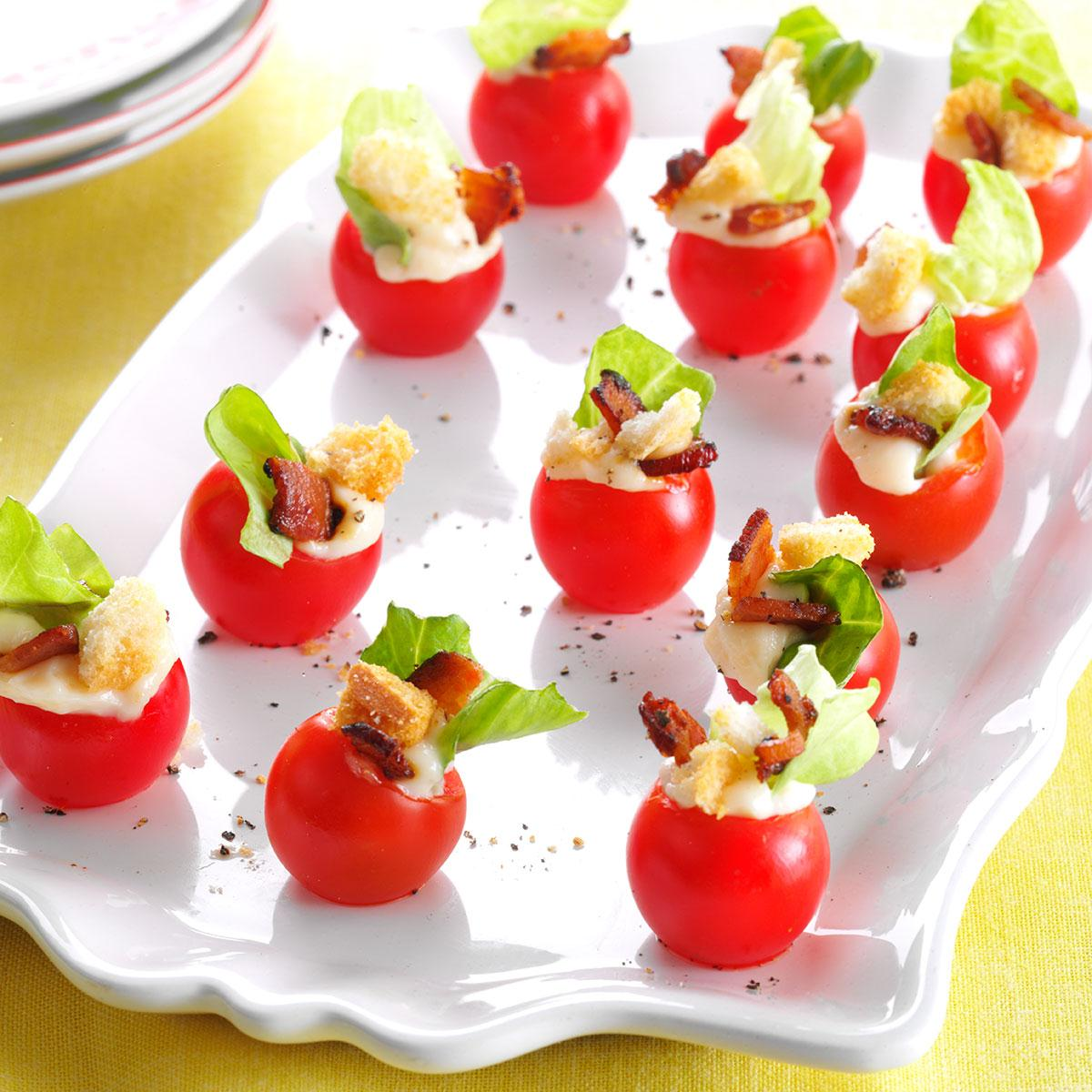 Mini Blt Appetizers Recipe Taste Of Home