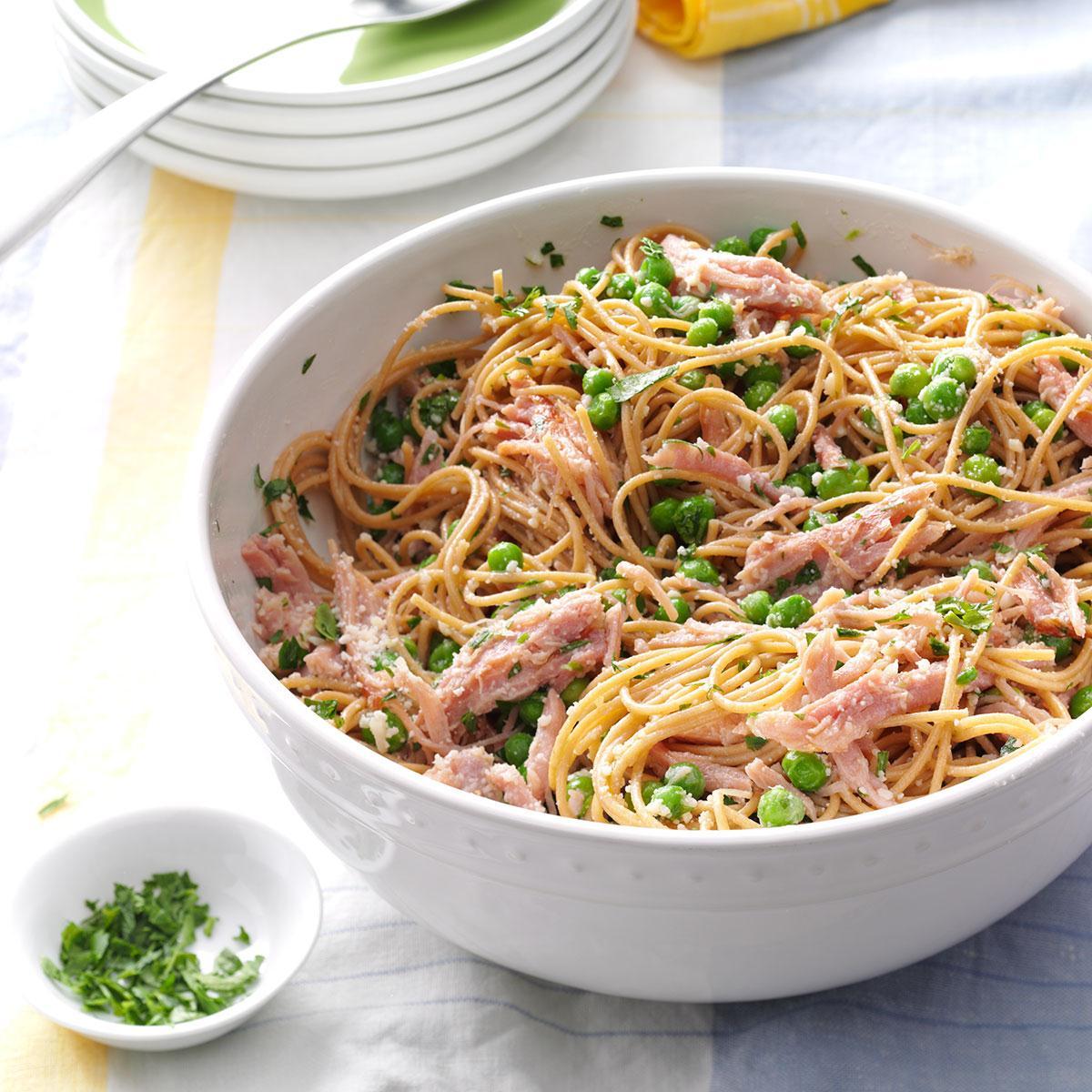 Ham Pasta Toss Recipe Taste Of Home