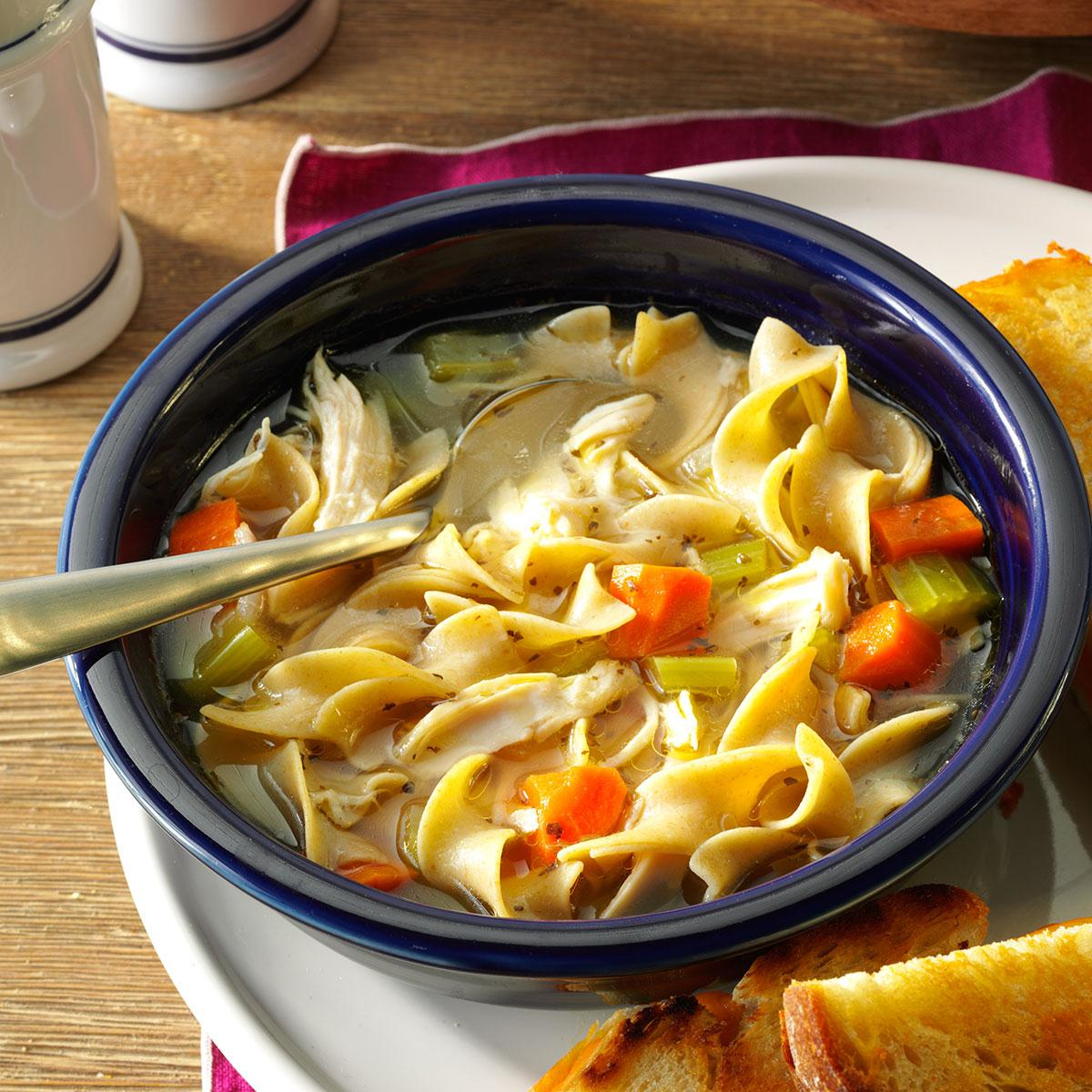 Cold-Day Chicken Noodle Soup Recipe
