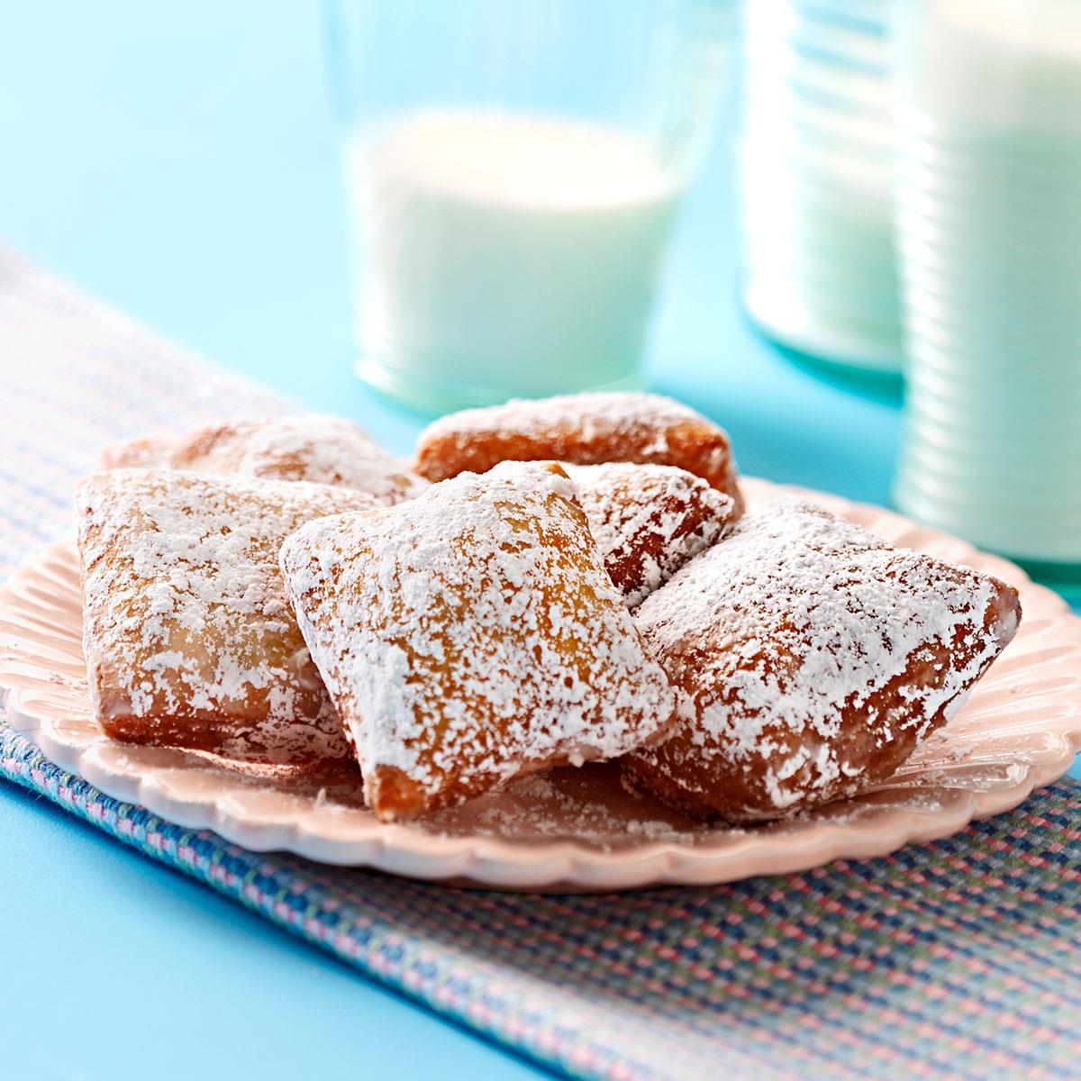 New orleans beignets recipe taste of home forumfinder Image collections