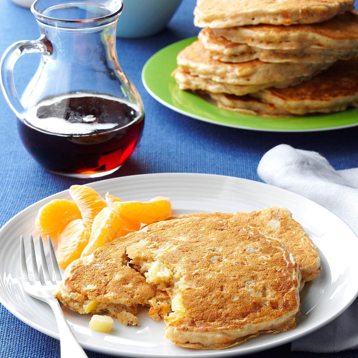Morning glory pancakes recipe taste of home ccuart Gallery