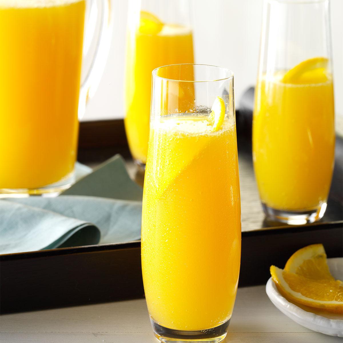 Orange-Apricot Mimosa Punch Recipe