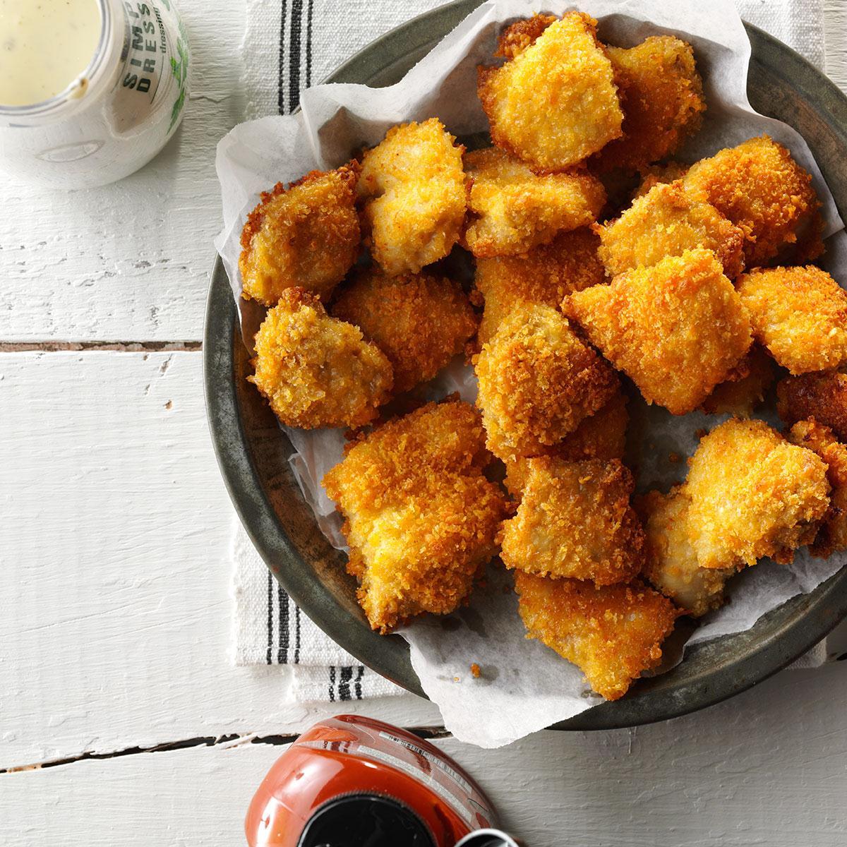 Spicy Chicken Nuggets Recipe