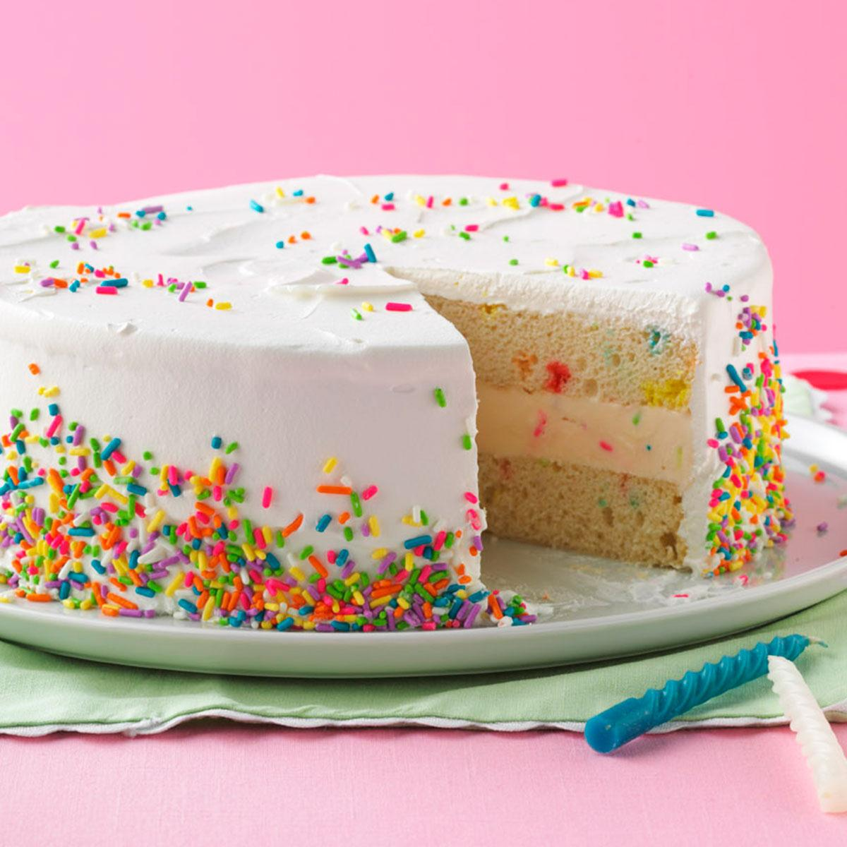 Easy Celebration Ice Cream Cake Recipe