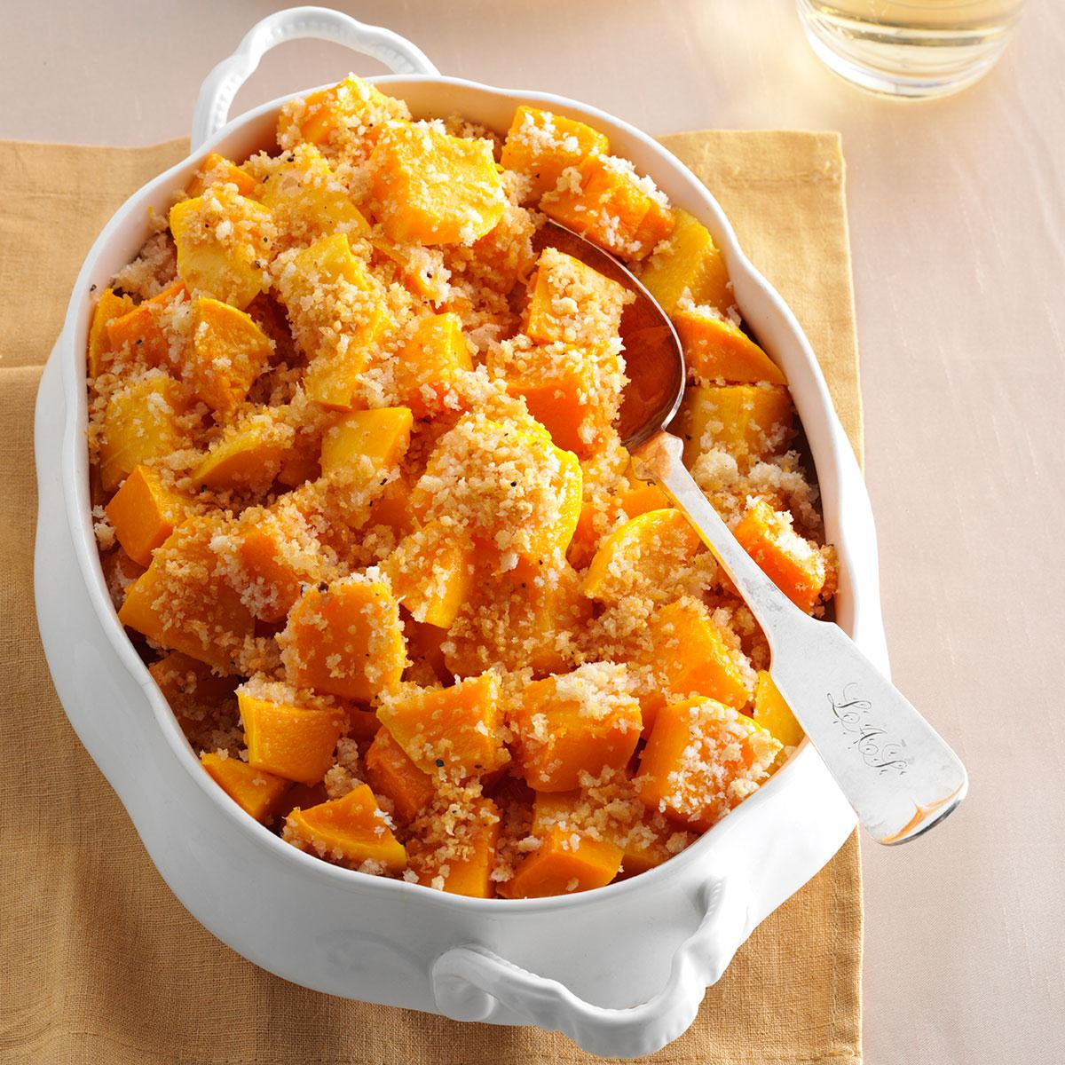 Parmesan Butternut Squash Recipe Taste Of Home