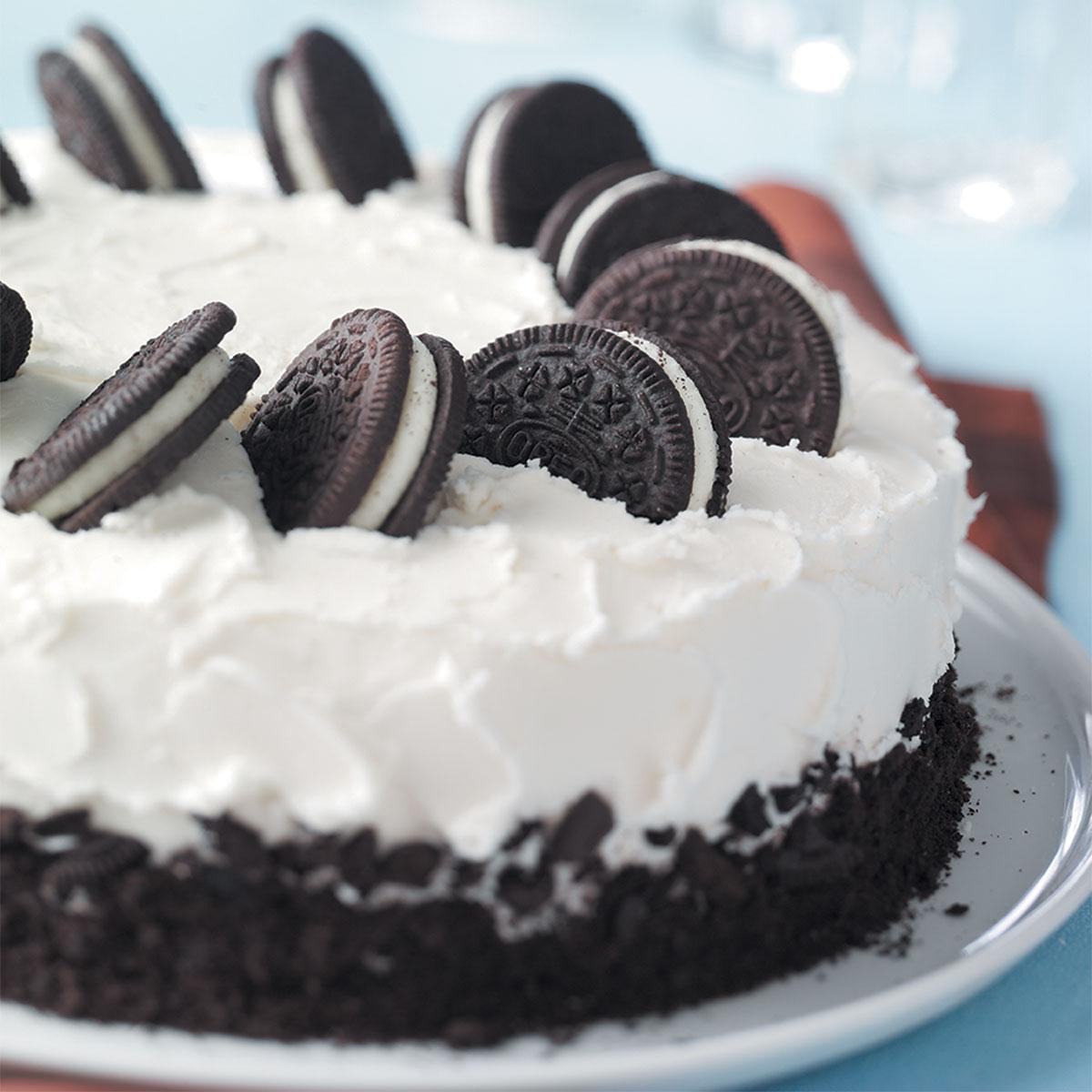 CookiesandCream Cake Recipe Taste of Home