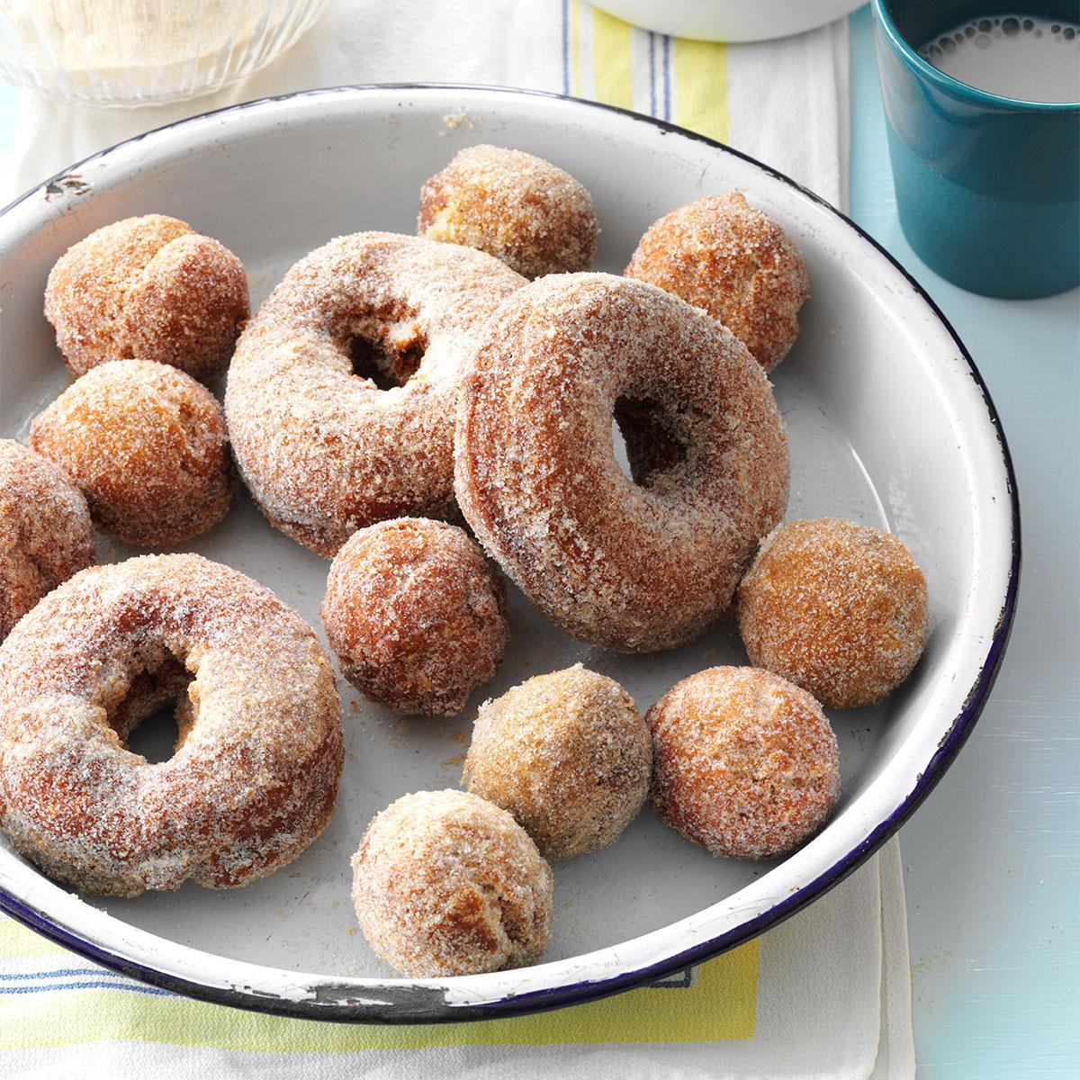 45 Easy Camping Recipes: Apple Cider Doughnuts Recipe