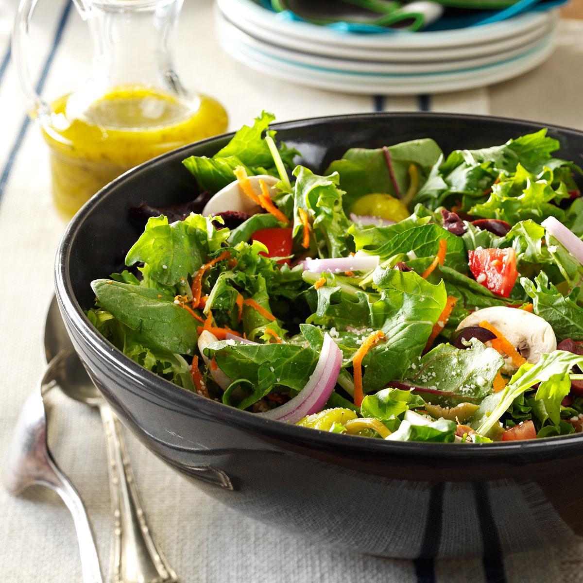 Italian Salad With Lemon Vinaigrette Recipe