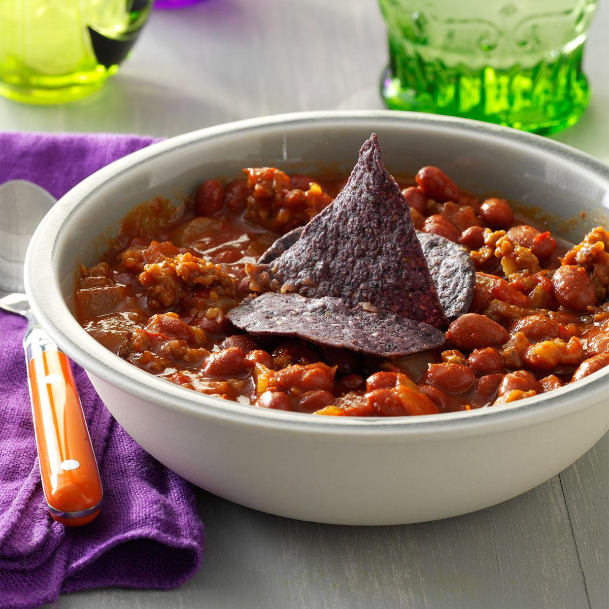 Bewitched Chili Recipe | Taste of Home