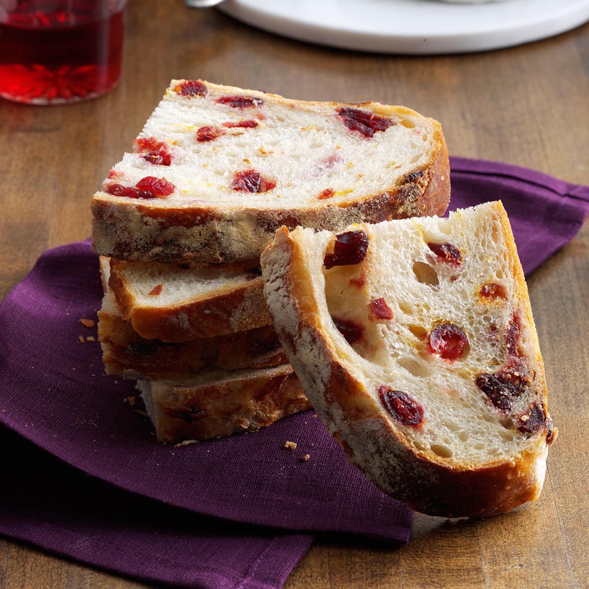 Cranberry Artisan Bread Recipes