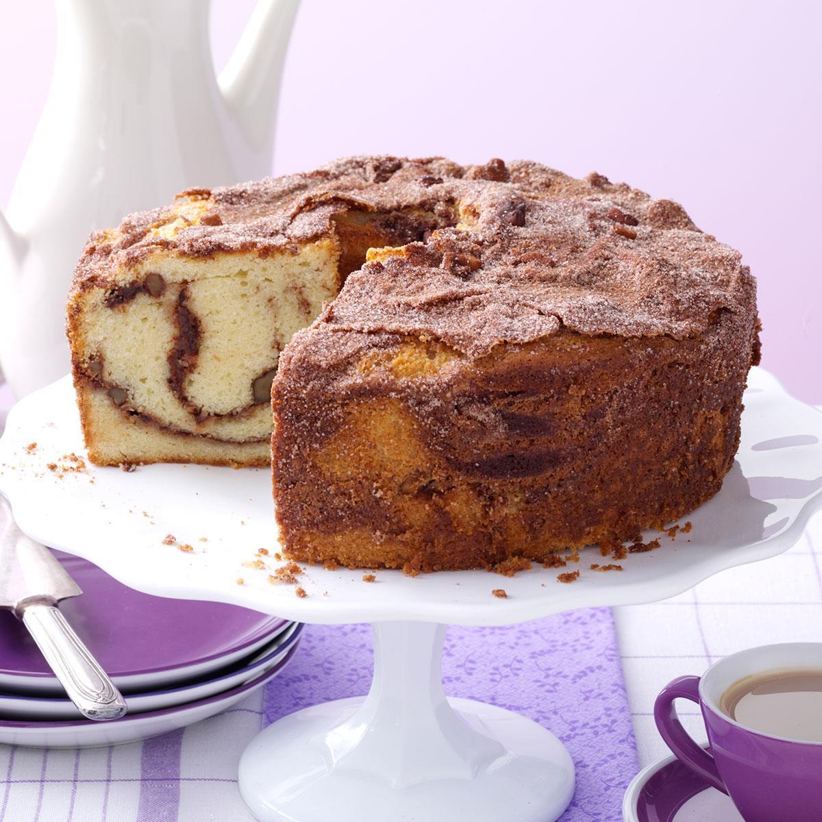Cinnamon Coffee Cake Recipe Taste Of Home