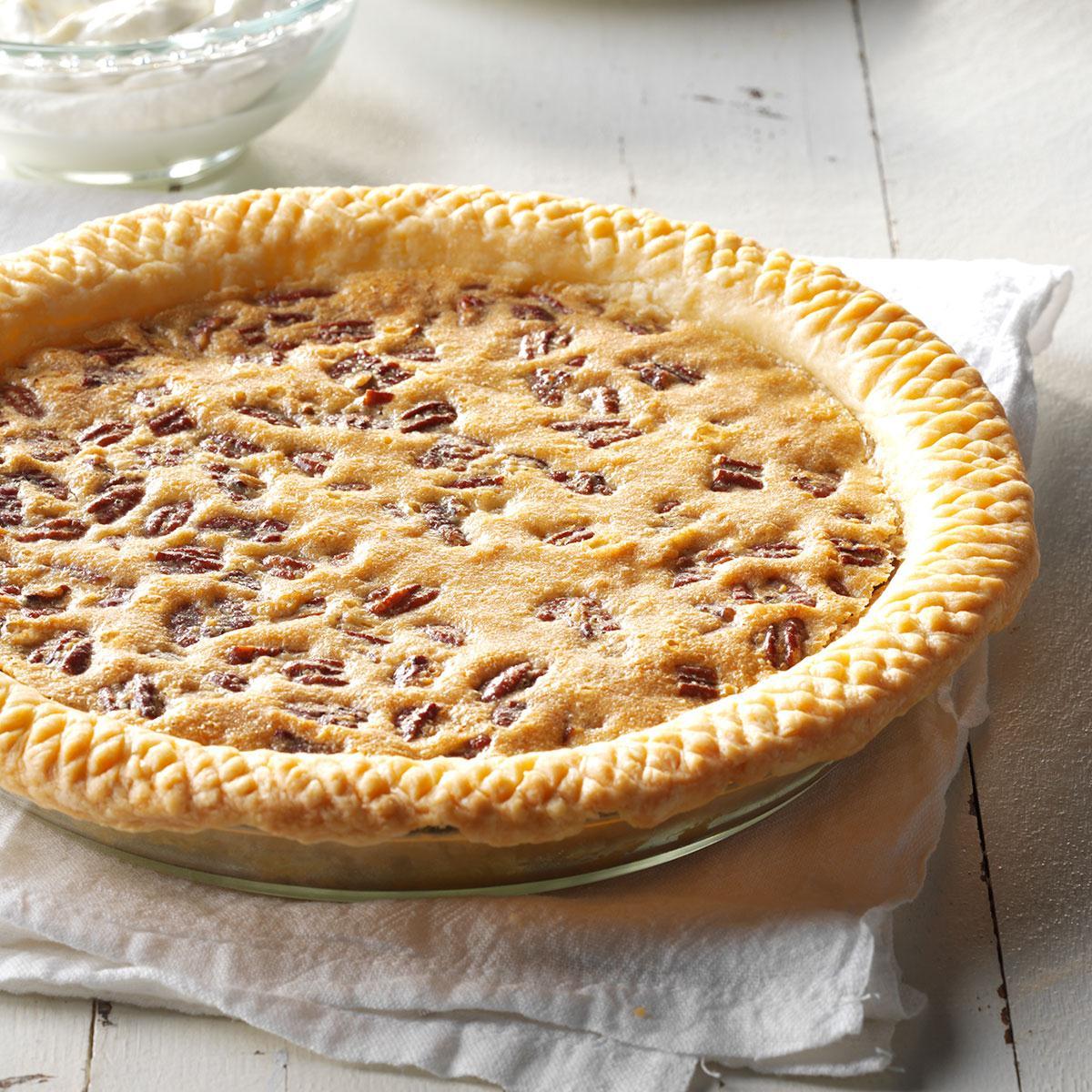 Pecan Pie Recipe: Raisin Pecan Pie Recipe