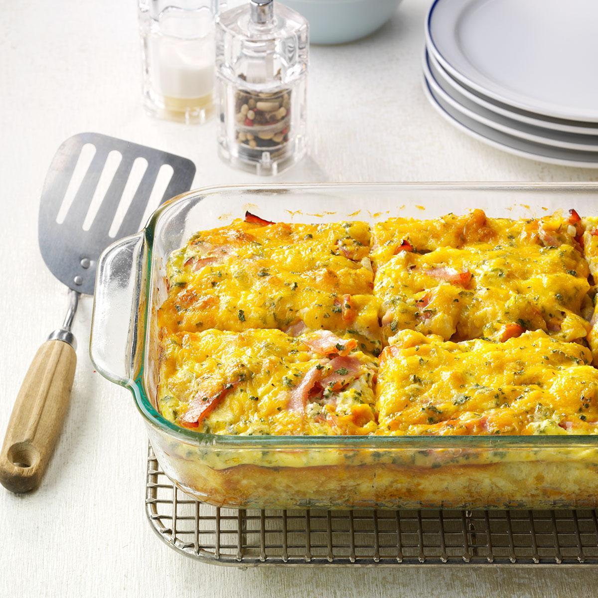 Loaded Breakfast Casserole: Loaded Tater Tot Bake Recipe