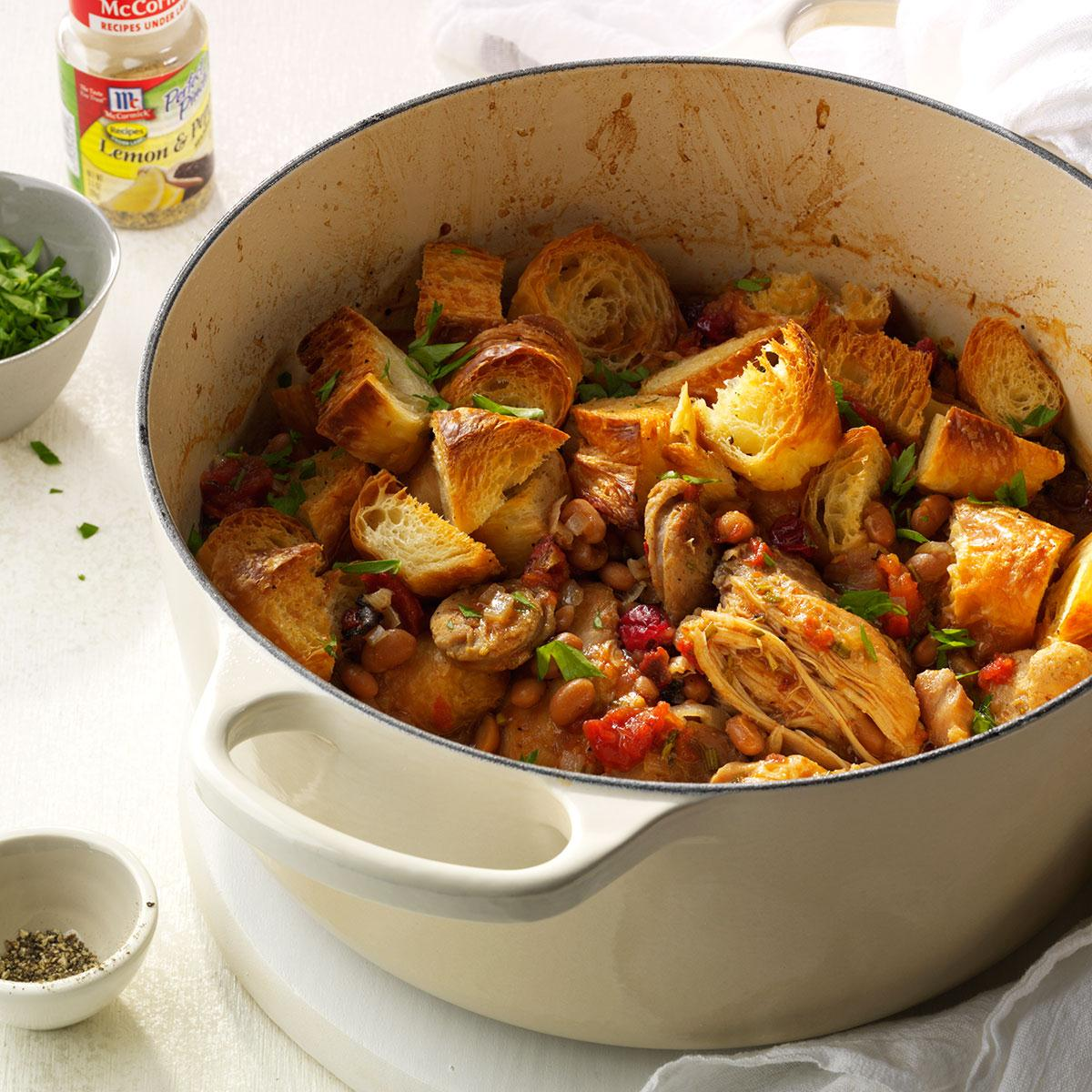 New England Bean & Bog Cassoulet Recipe