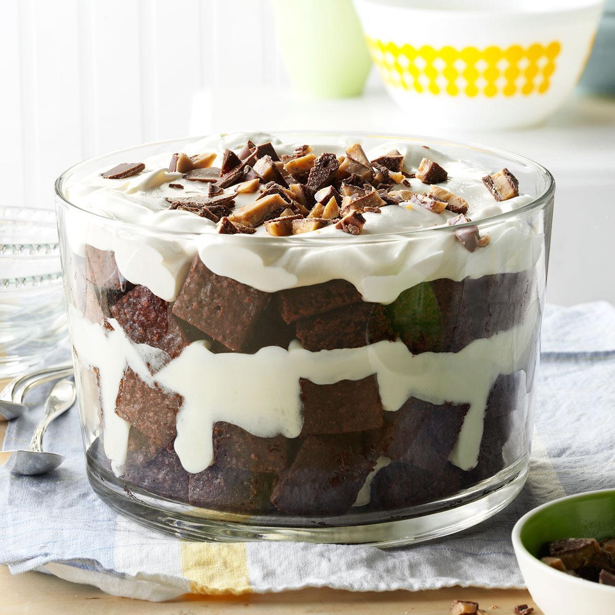 Toffee Brownie Trifl