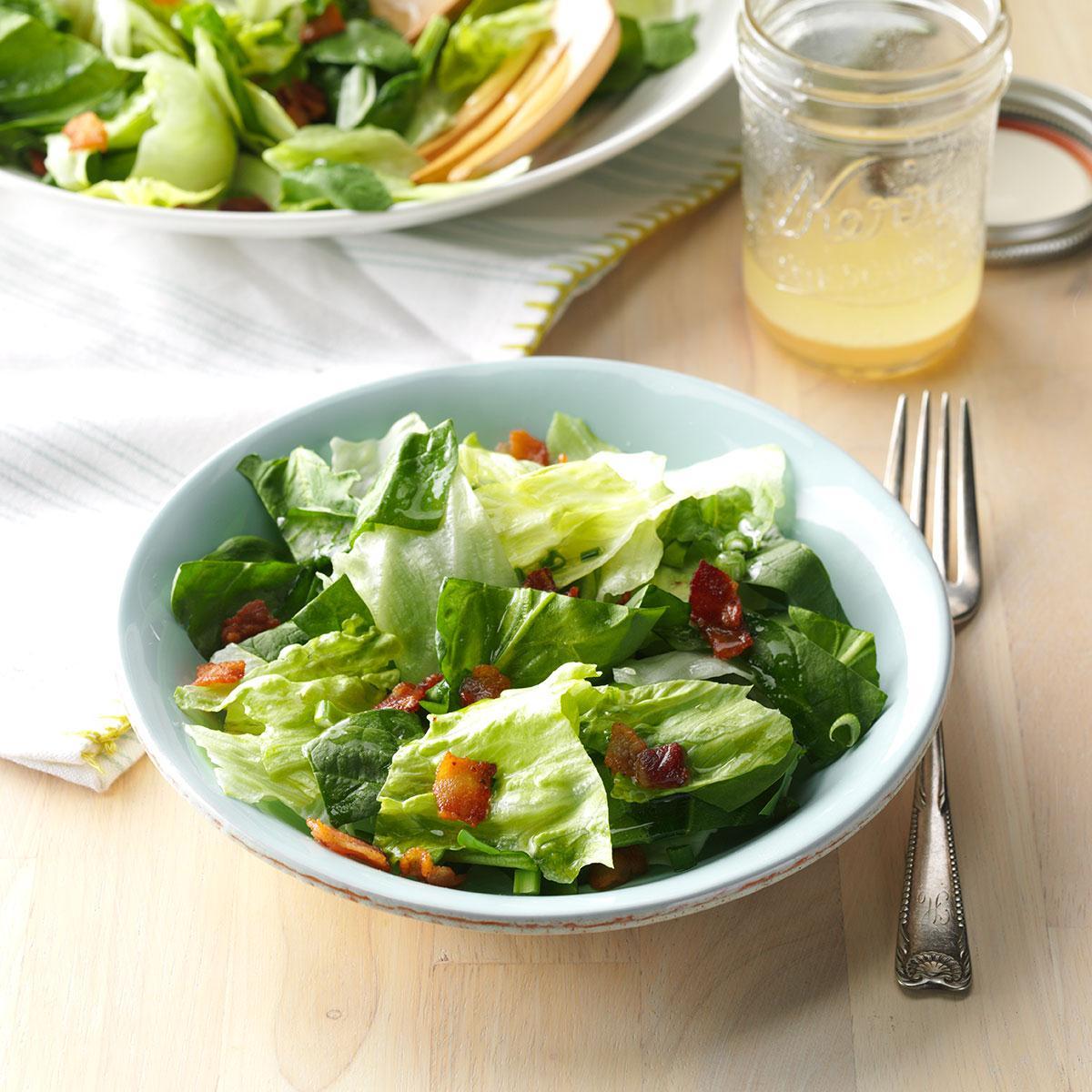 Bacon Spinach Salad Recipe