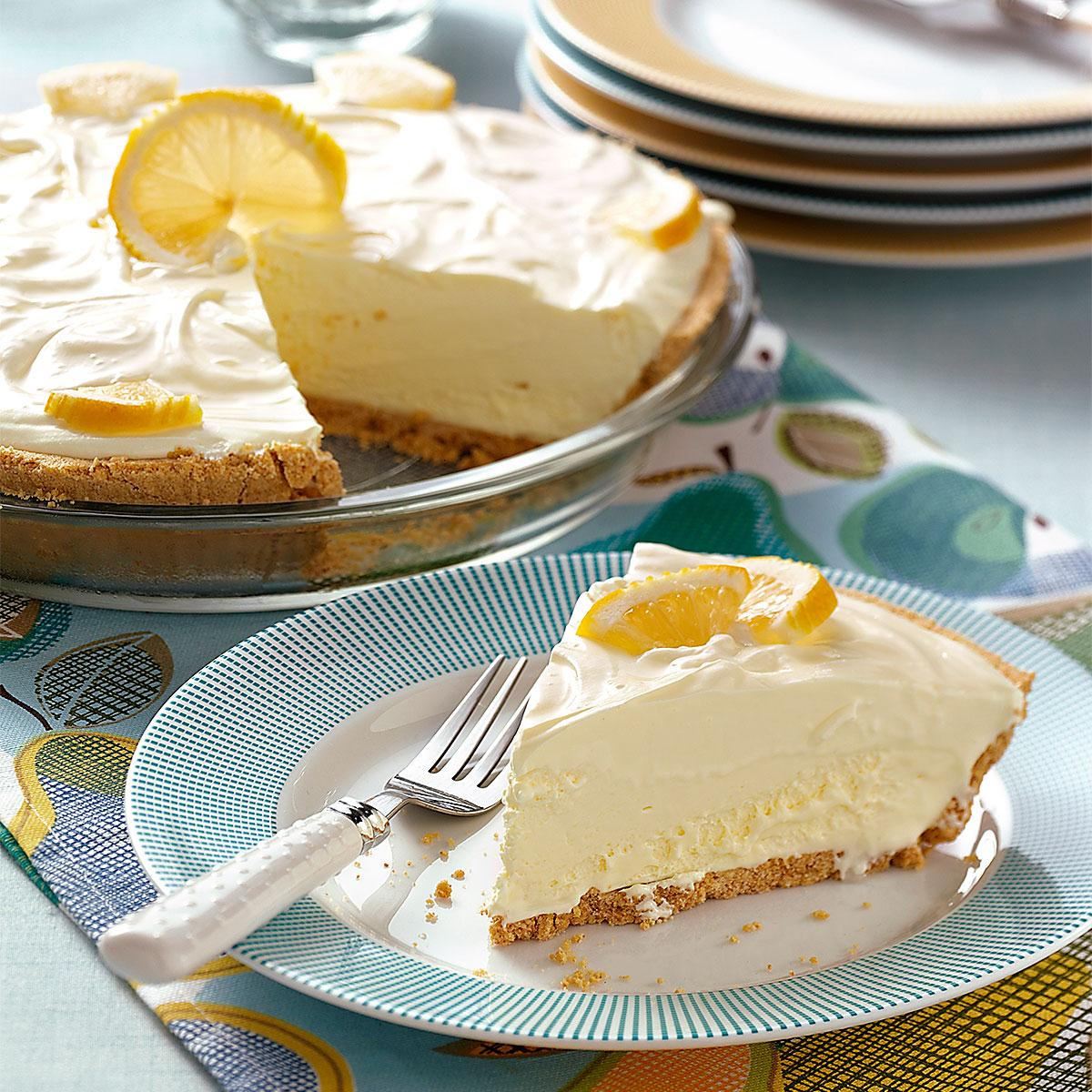 Lemonade Icebox Pie Recipe