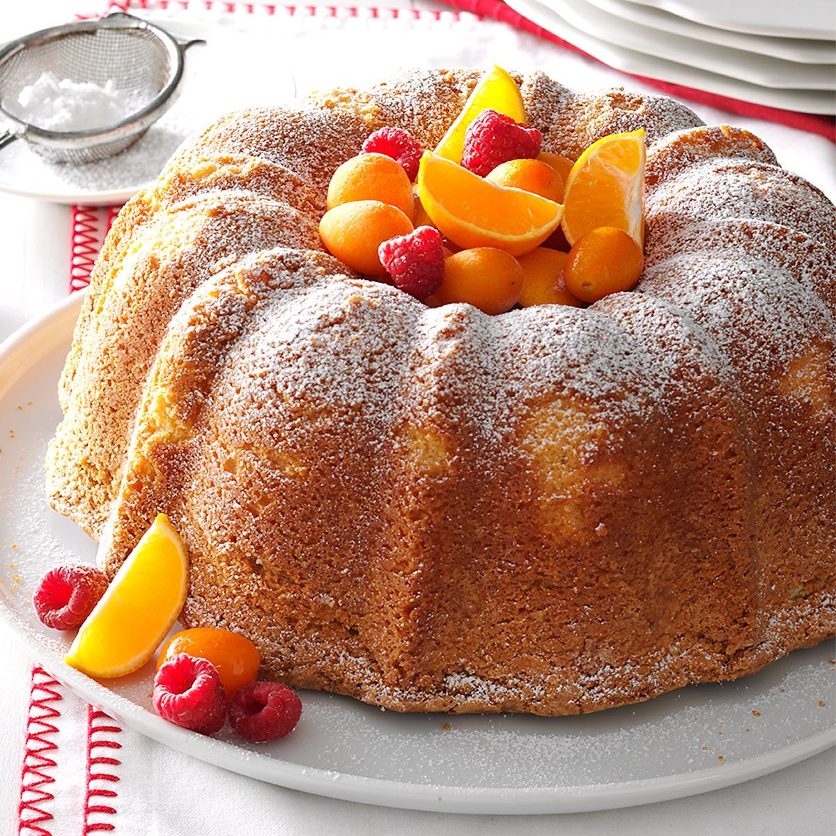 Pound Cake With Cake Flour And Sour Cream