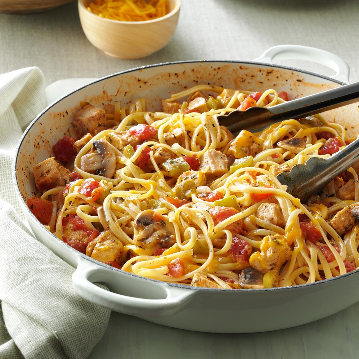 Italian turkey skillet recipe taste of home forumfinder Images