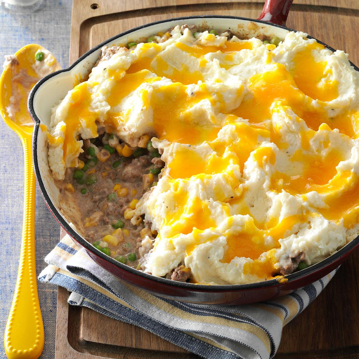 Skillet Shepherd's Pie Recipe