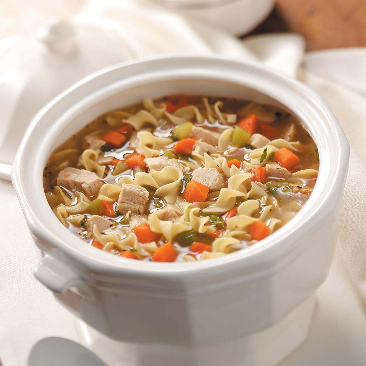 Old fashioned turkey noodle soup recipe taste of home forumfinder Gallery