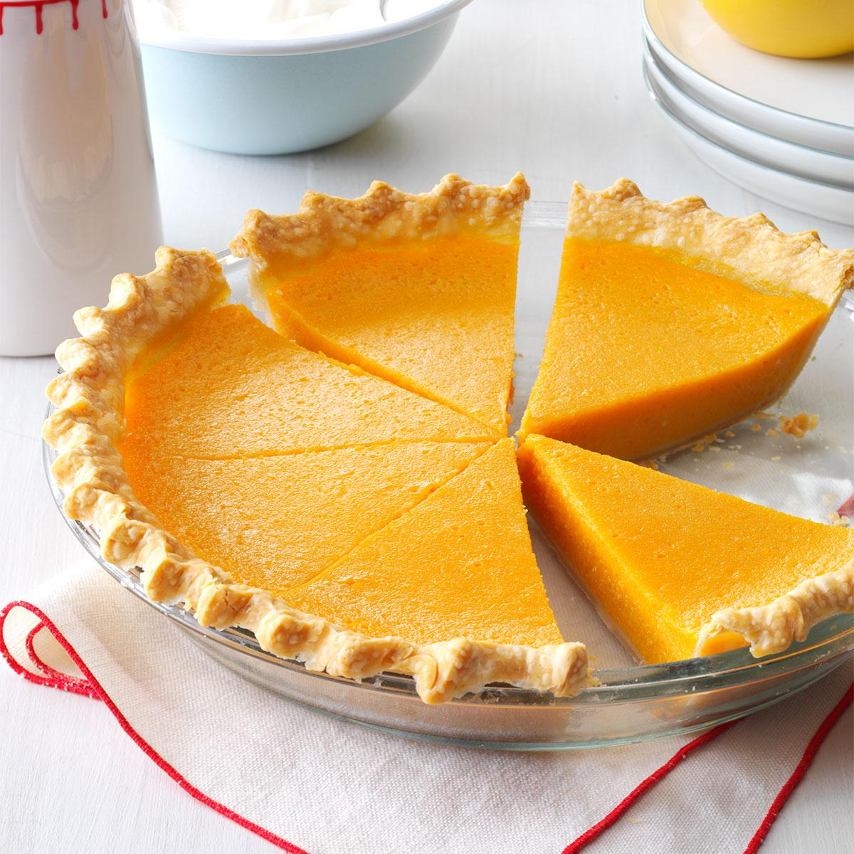 Lemony Sweet Potato Pie Recipe | Taste of Home