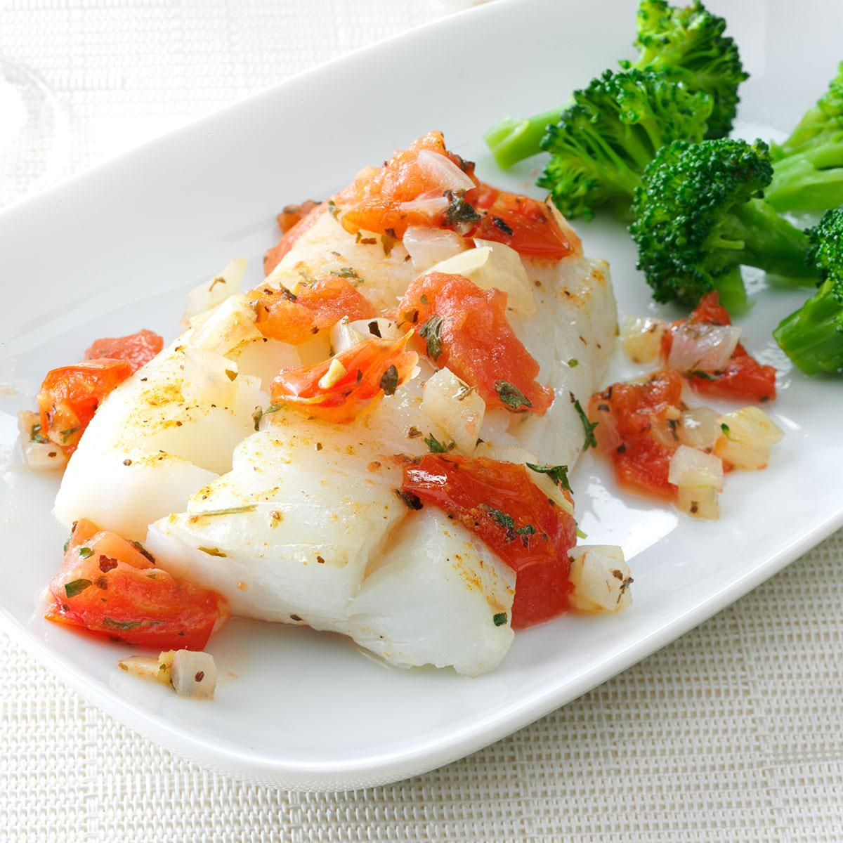 70 Low Calorie Recipes For High Stress Days: Cod Delight Recipe