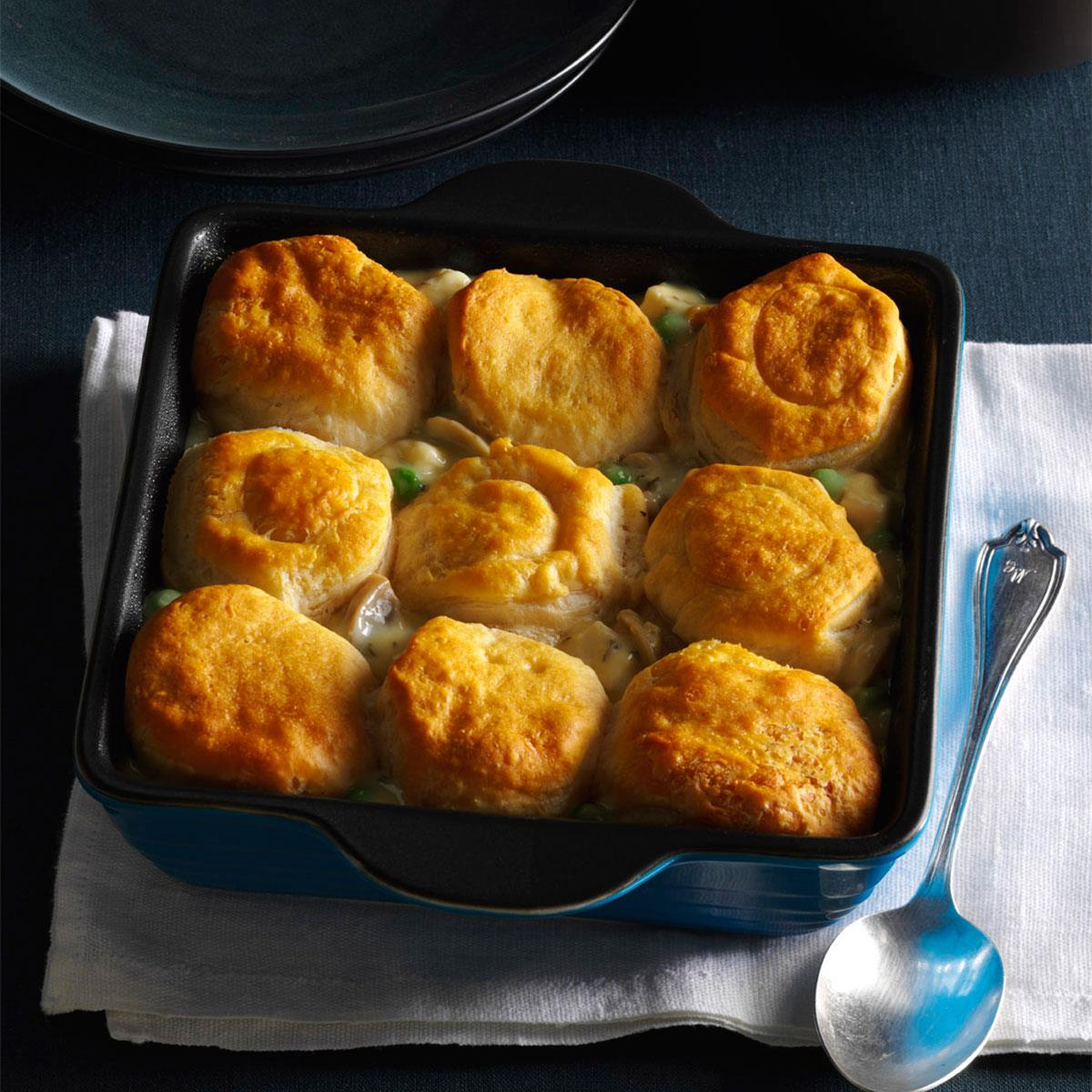 Biscuit Turkey Bake Recipe