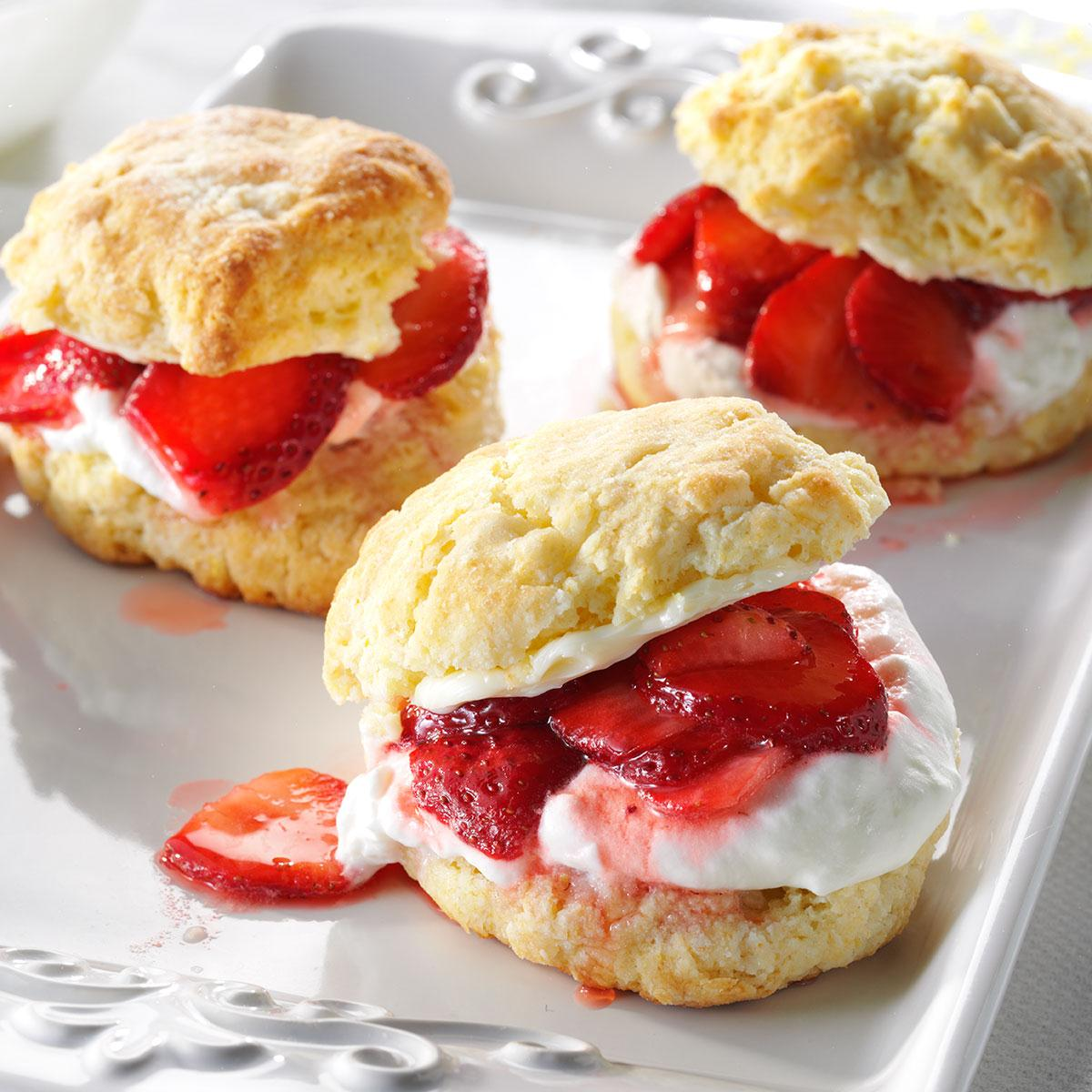 Strawberry Sweets: Strawberry Lemon Shortcake Recipe