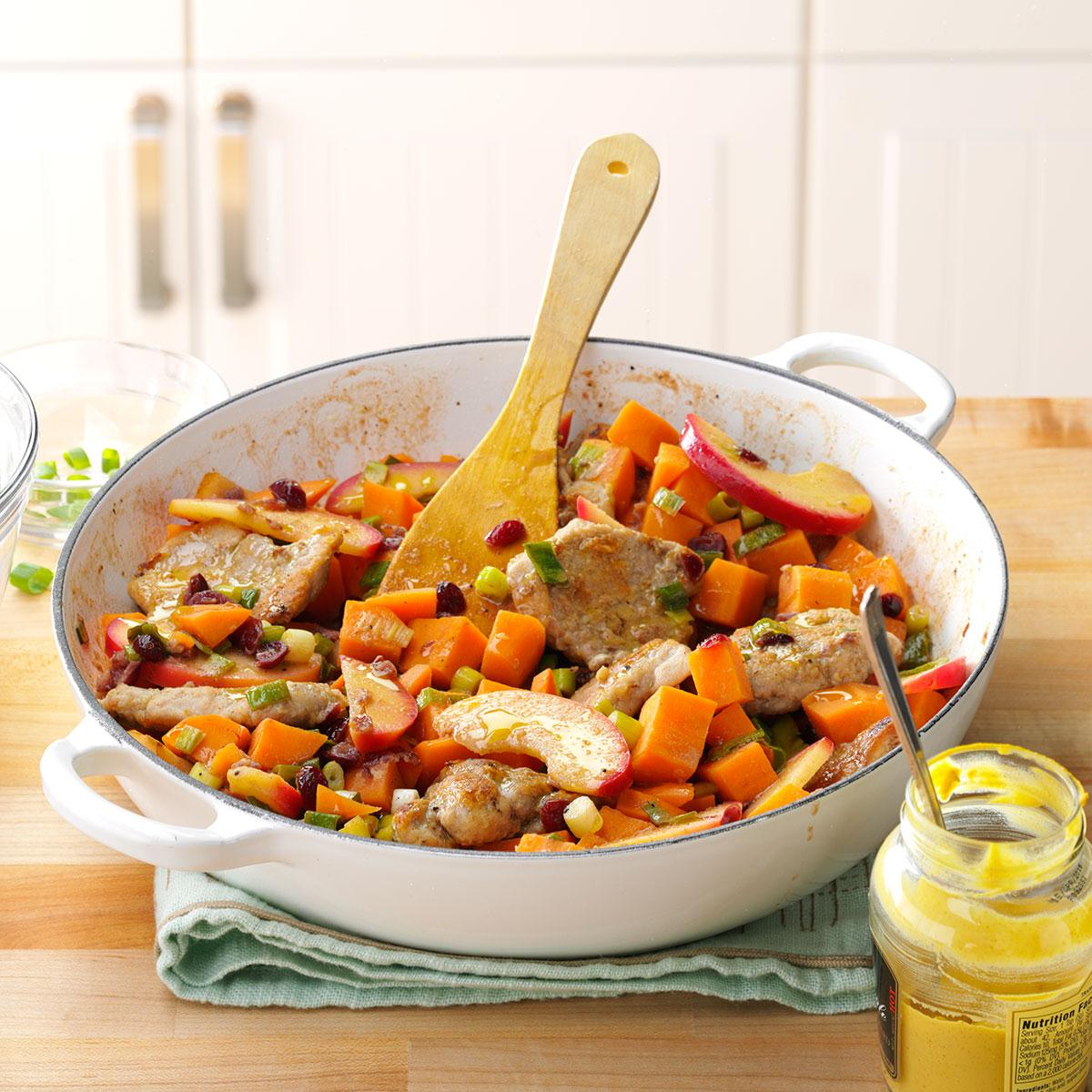 Pork With Sweet Potatoes Recipe