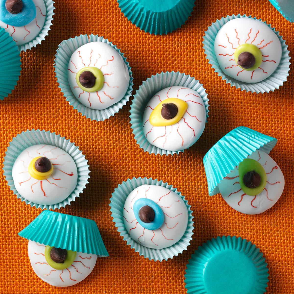 Eyeball Cookies Recipe | Taste of Home