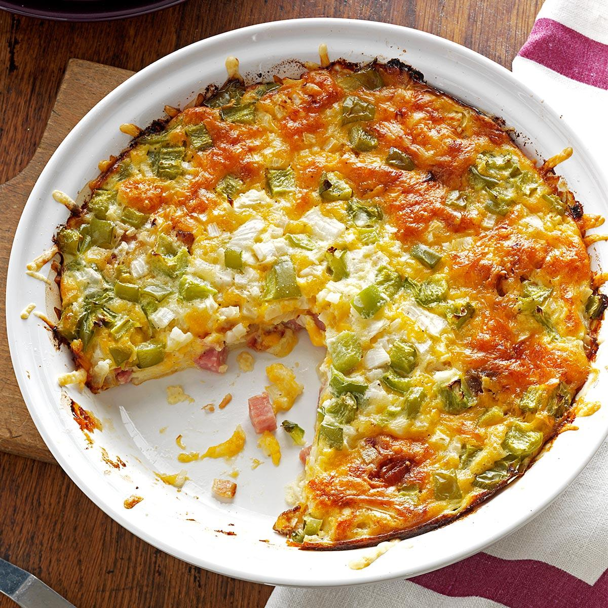 Ham Recipes: Ham 'n' Cheese Pie Recipe
