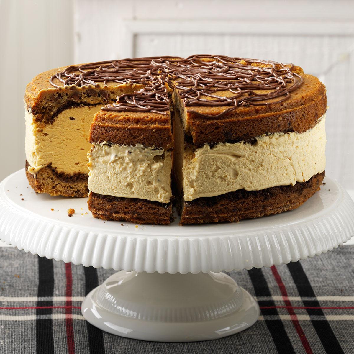 Peanut Butter Dessert Recipes: Giant Peanut Butter Ice Cream Sandwich Recipe