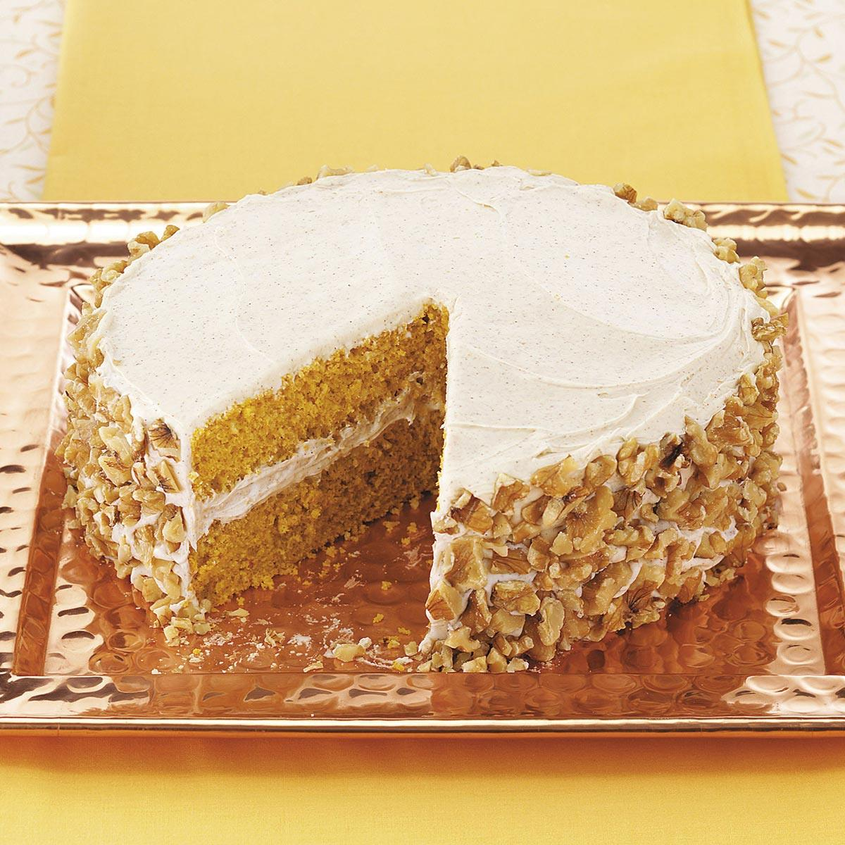 Pumpkin Pie Cake Recipe Taste of Home