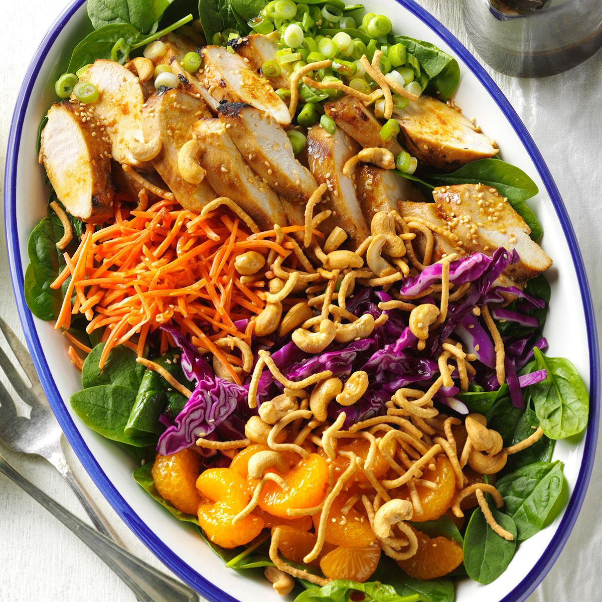 Ginger-Cashew Chicken Salad Recipe