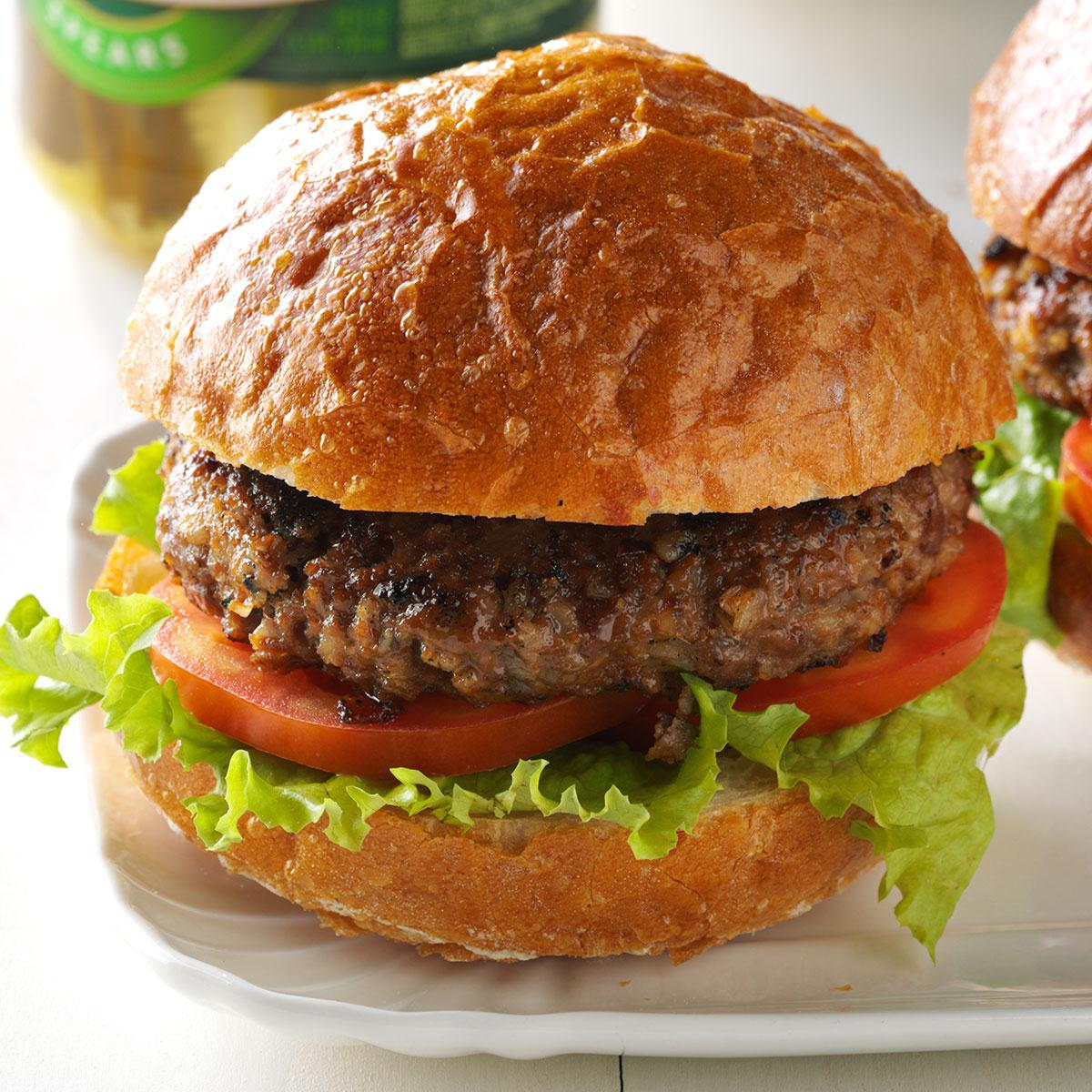 Barley Beef Burgers Recipe
