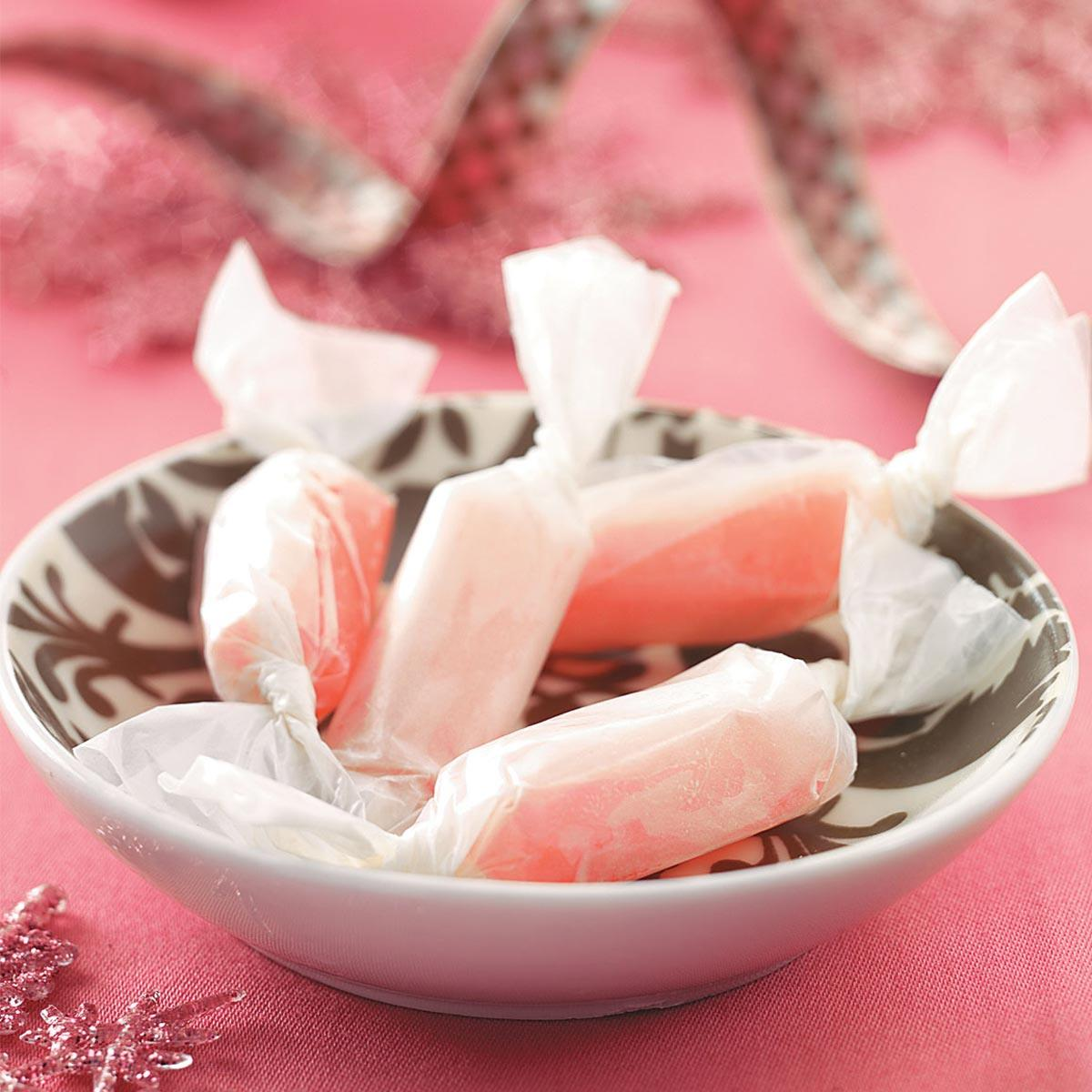 Old Fashioned Homemade Taffy