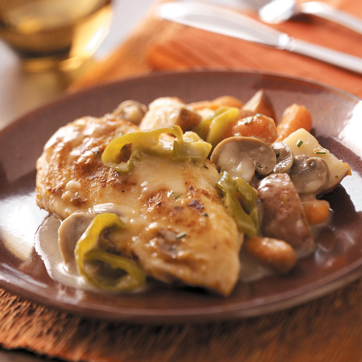 99 Chicken Dinner Ideas To Try Tonight: Chicken And Red Potatoes Recipe