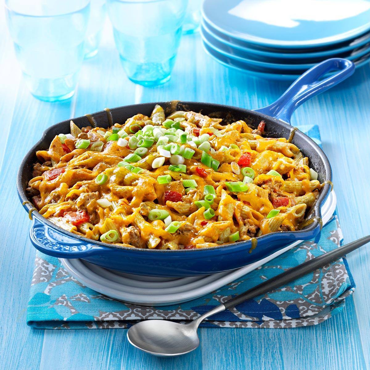 one pot recipes family favorite cheeseburger pasta recipe taste of home 30664