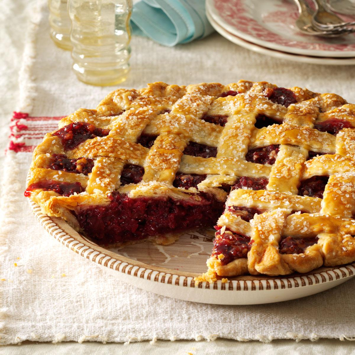 Cranberry Walnut Pie Recipe Taste Of Home