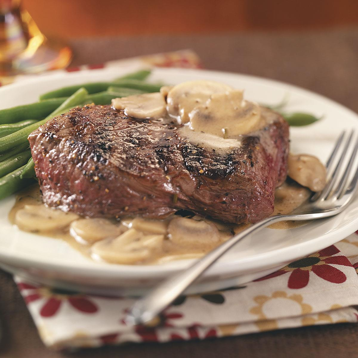 how to make creamy pepper sauce for steak