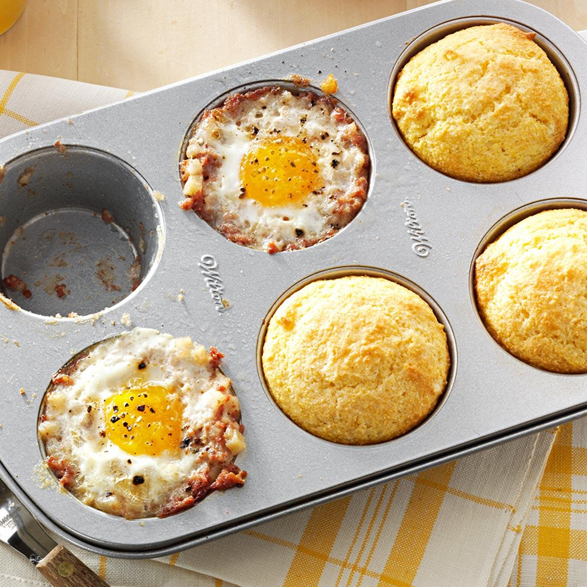 Meal in a muffin pan recipe taste of home forumfinder Gallery