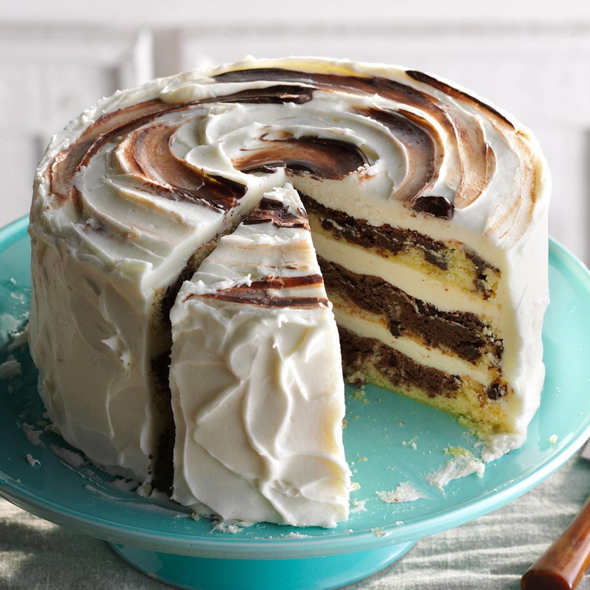 How To Make A Marble Cake From Scratch