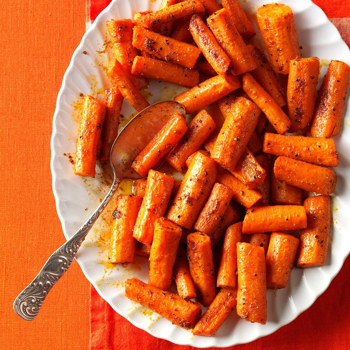 Oven-Roasted Spiced Carrots Recipe