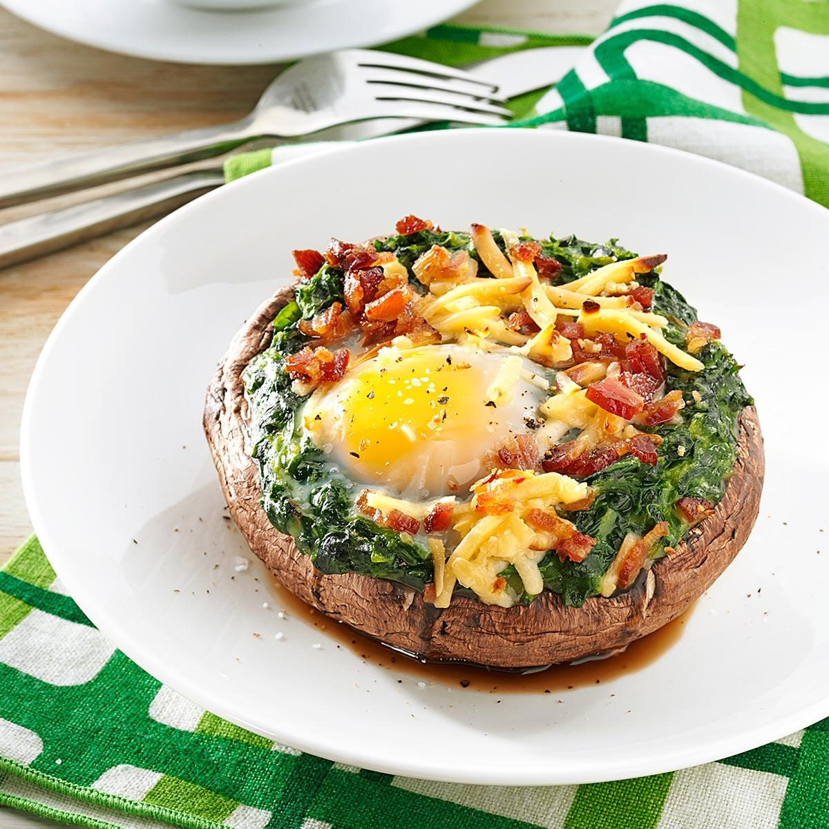 Brunch Style Portobello Mushrooms Recipe