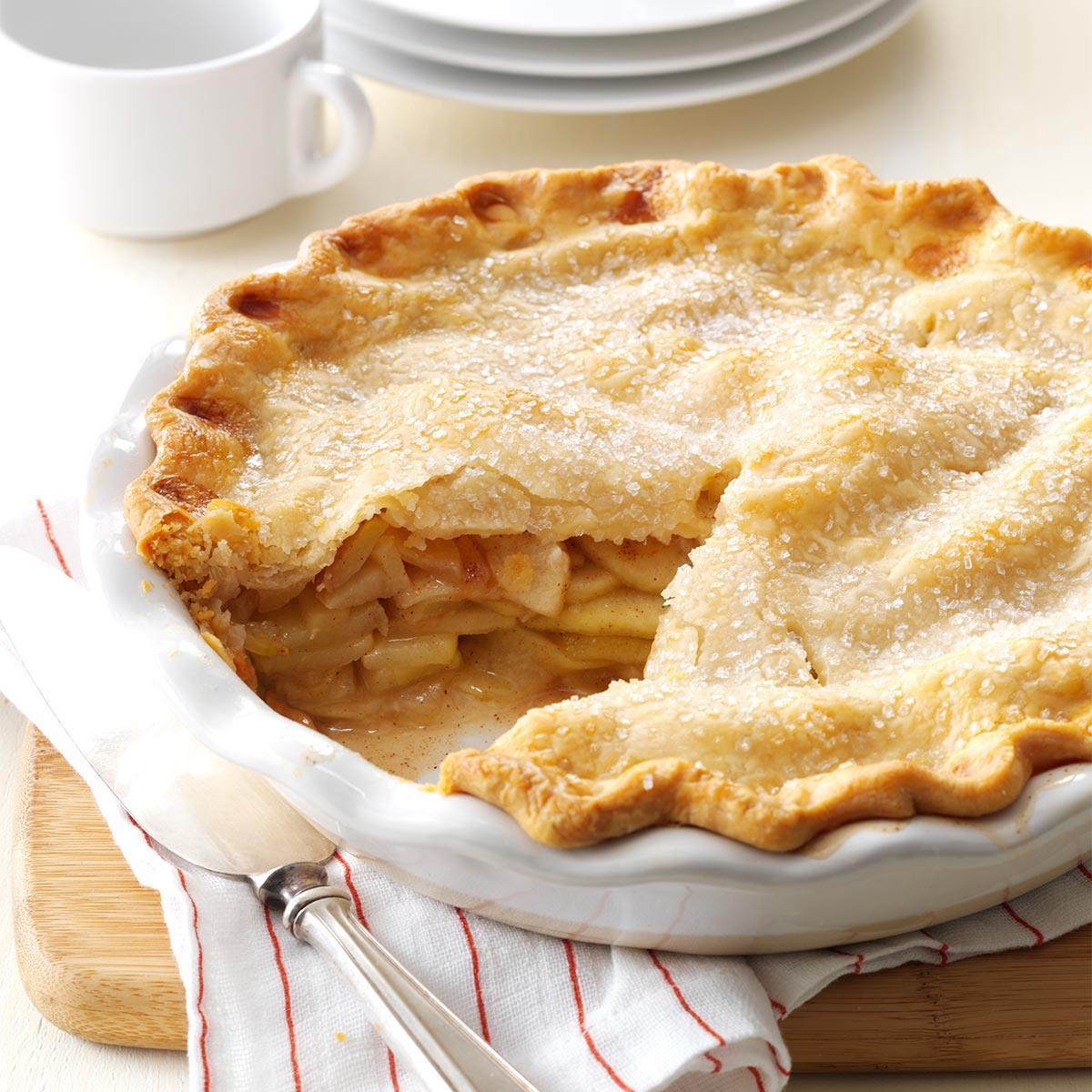 Apple Pie Recipe Taste Of Home