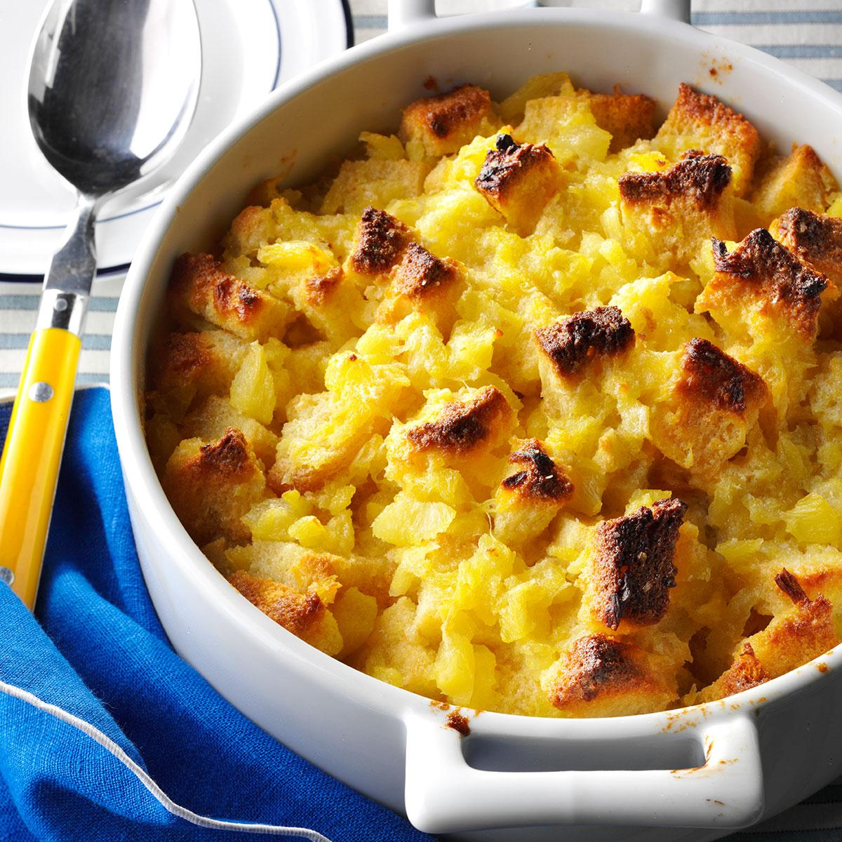 Scalloped Pineapple Casserole Recipe