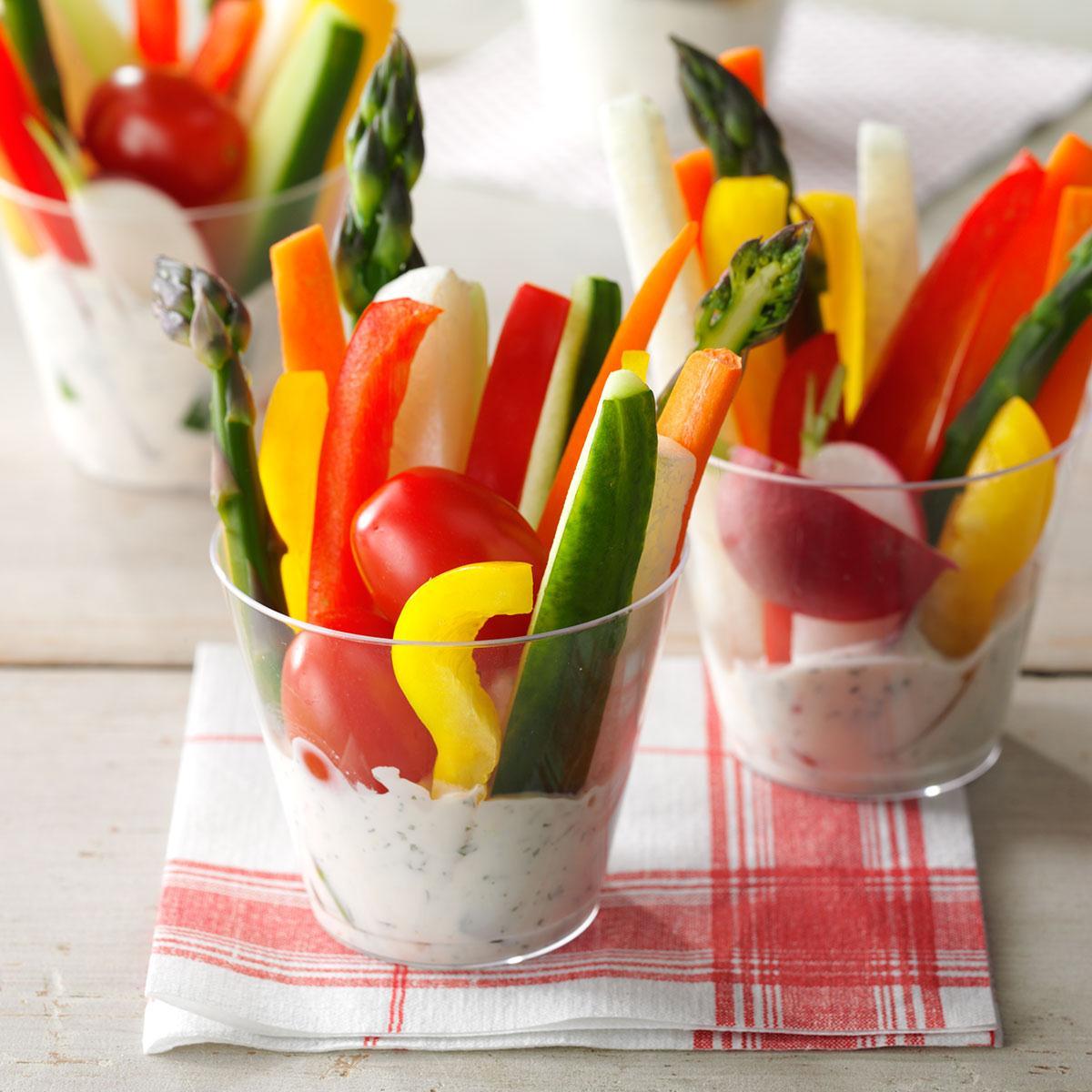 Wedding Finger Food Recipes: Dill Vegetable Dip Recipe