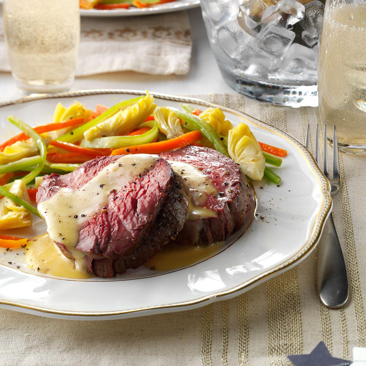 5 Simple Spring Meals On The Grill: Beef Tenderloin With Sauteed Vegetables Recipe